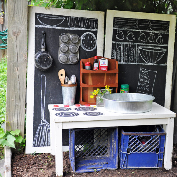 Joyful Home mudpie kitchen chalkboards