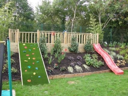 Redlough Landscapes Mulit Level Play Area