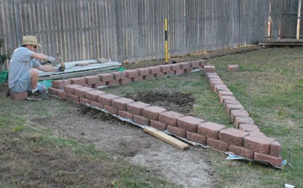 Remodelaholic Justin building garden