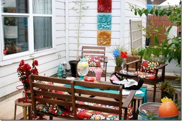 Remodelaholic perfect patio