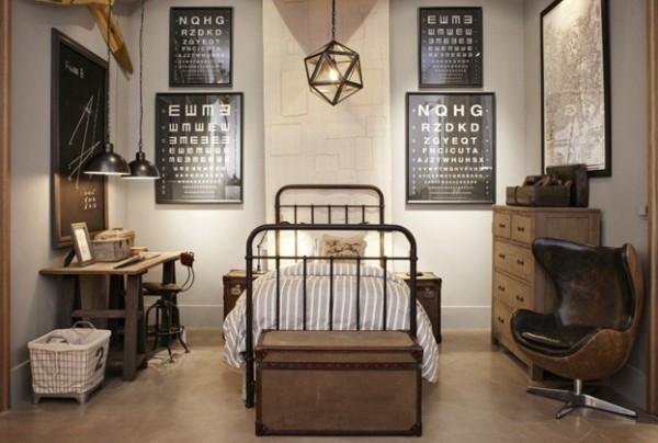 Masculine Room | Restoration Hardware
