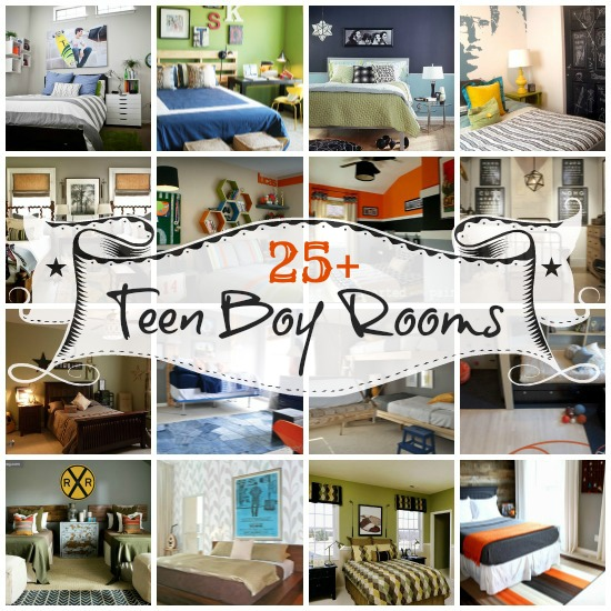 25 bedrooms for teen boys diy Cool teen boy room ideas