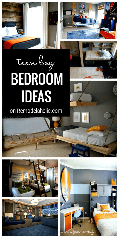 25 great bedrooms for teen boys - Bedroom ideas for teenage guys with small rooms ...