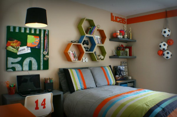 todays creative blog colorful room - Colorful Boys Room