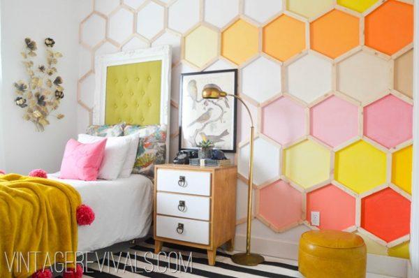 Vintage Revivals honeycomb wall