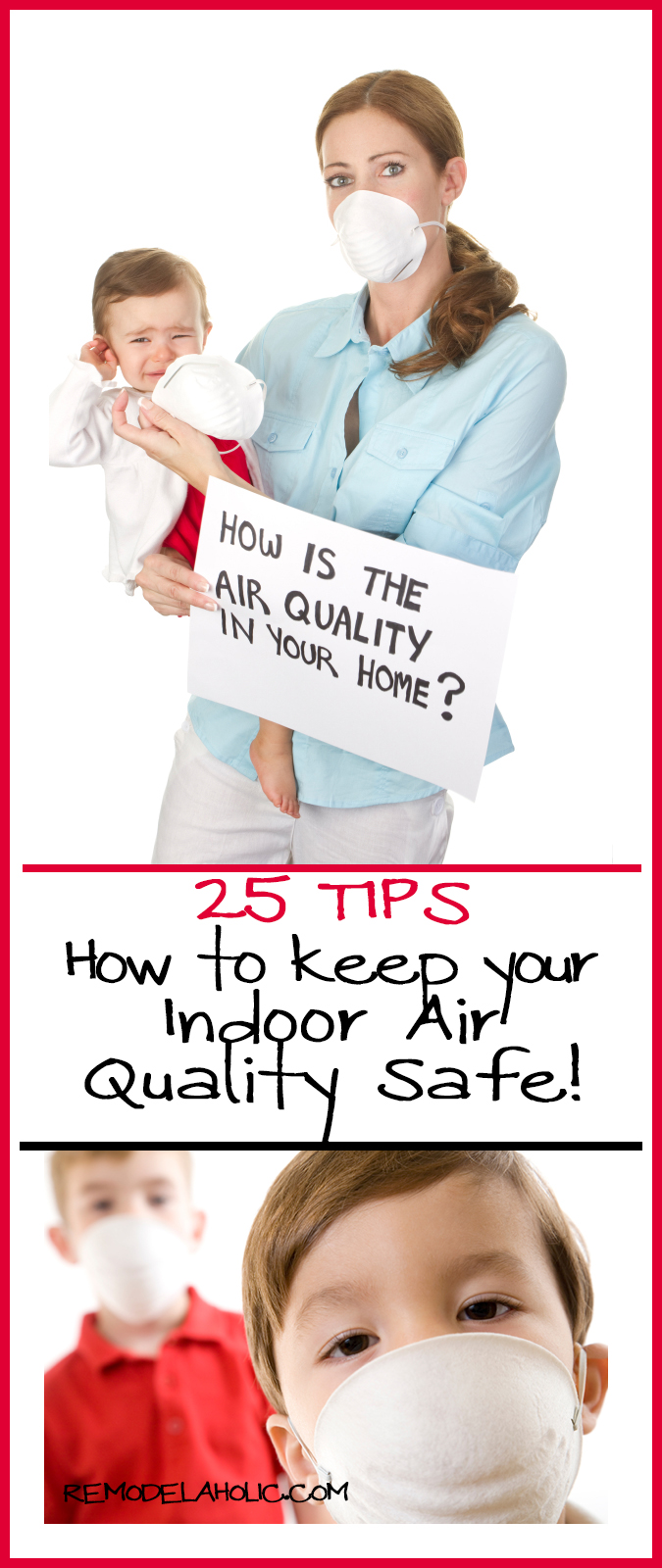 25 tips for cleaning you indoor air quality @remodelaholic