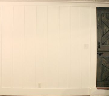 Board and Batten Wall Tutorial