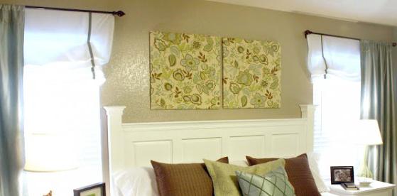 Easy DIY Bedroom Art Tutorial