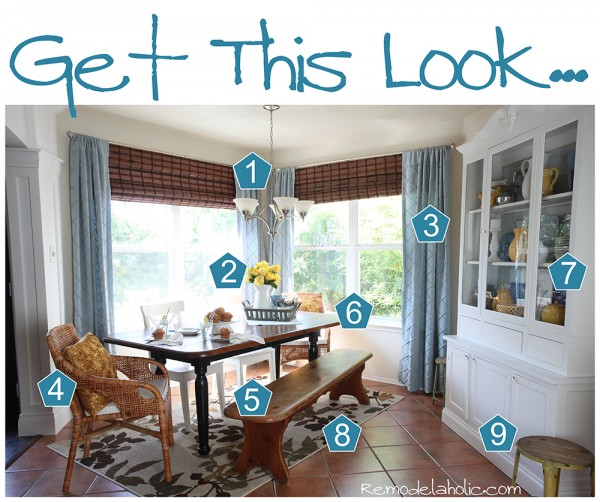 Get this look Dining room