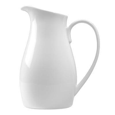 Luigi-Bormioli-White-Porcelain-Pitcher