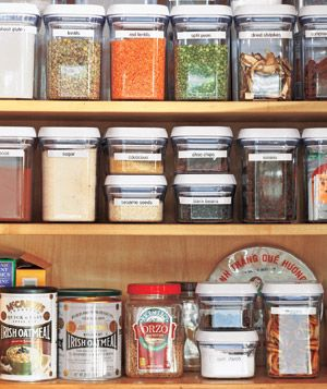 Order in the Kitchen Cupboards
