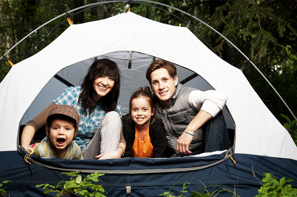 Travel and Leisure family camping