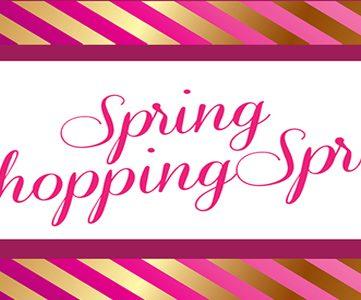 $500 Spring Shopping Spree!