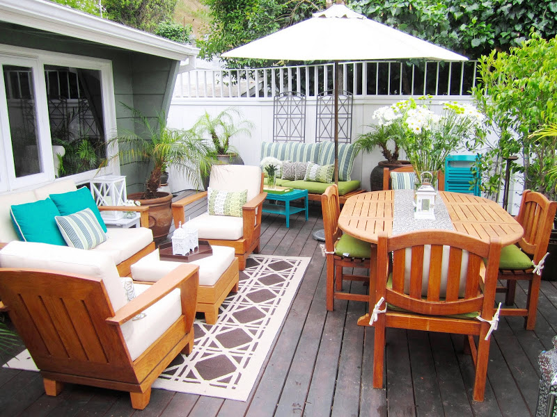 Beautiful Backyard Deck Makeover
