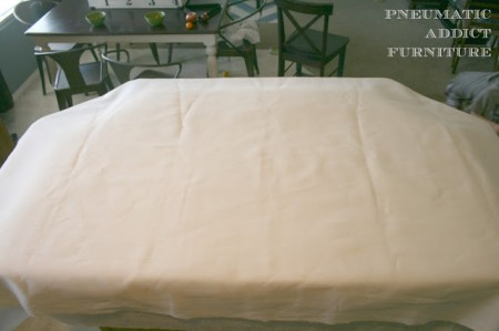 build a fabric tufted headboard
