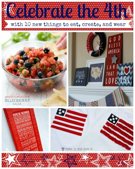 10 new ideas to eat, create, and wear for the 4th of July
