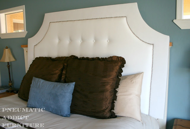 hang headboard to wall