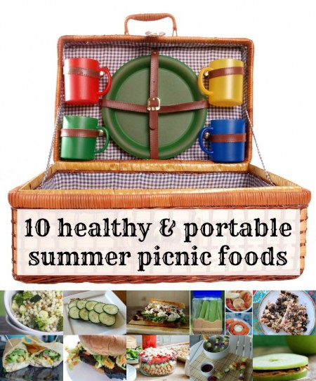 10 healthy and portable summer picnic recipes