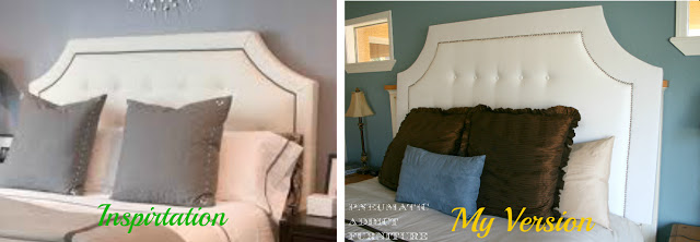 Build a tufted headboard with nail head trim remodelaholic bloglovin