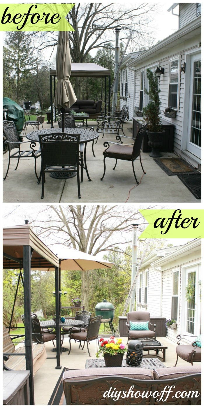 Remodelaholic | Top Ten Outdoor Patios for Summer and Link ... on Outdoor Patio Makeover id=99699