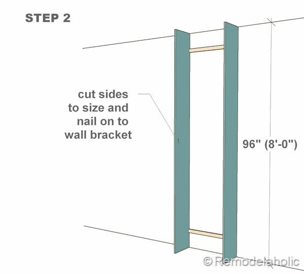 step 2 bult-in bookshelves