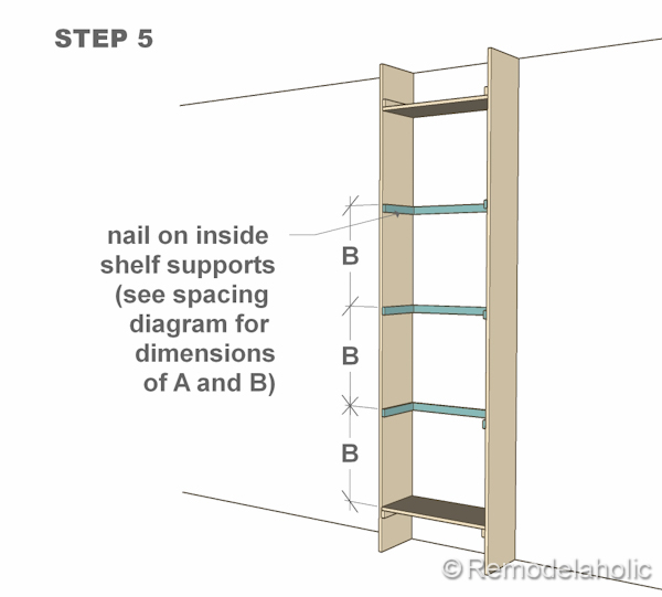 how to build a media bookcase dimensions