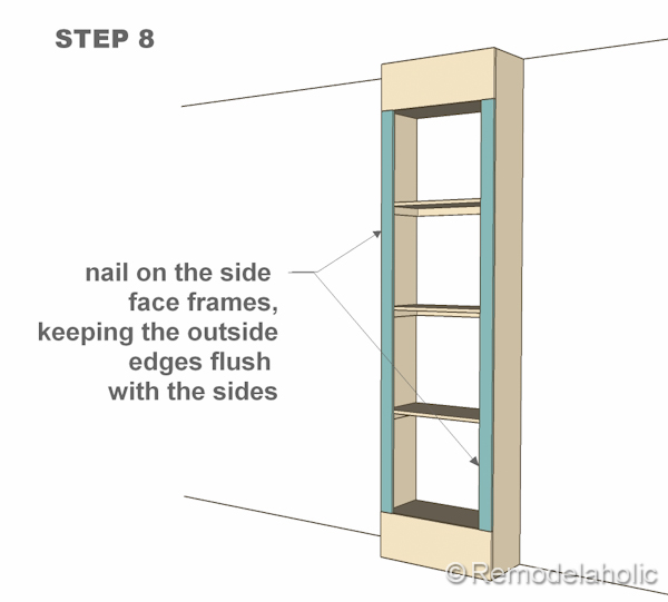 Free Plans For Builtin Bookshelves - Diy built in shelves
