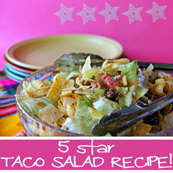 5 star taco salad