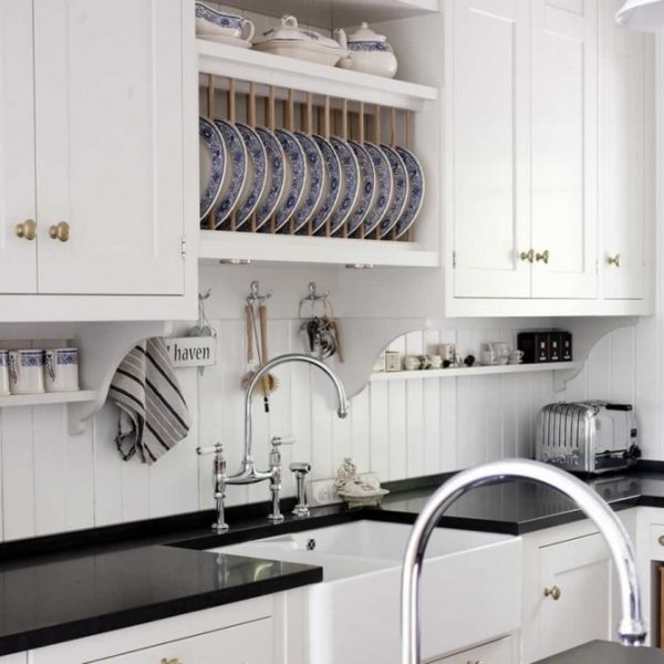 Backsplash Alternatives remodelaholic | 25+ great kitchen backsplash ideas
