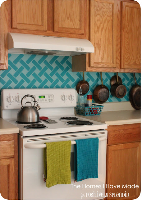 Great Backsplash Ideas remodelaholic | 25+ great kitchen backsplash ideas