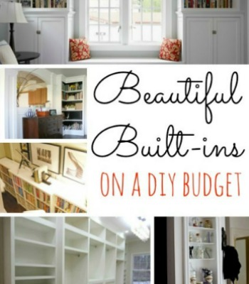 Beautiful Built-Ins on a DIY Budget
