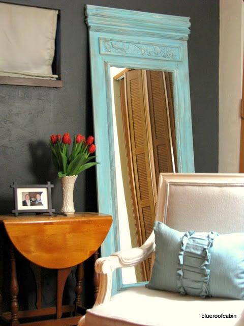 diy trumeau tall floor mirror