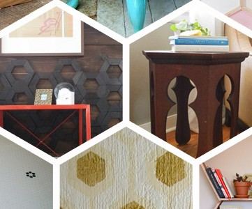 hexagon projects for the home