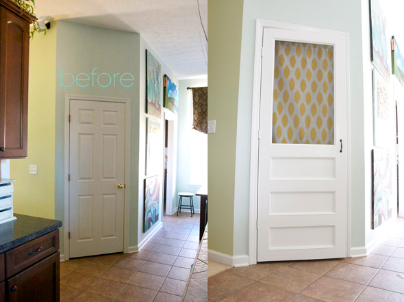 how_to_build_a_screen_door_before+after & 25+ Great DIY Door Ideas Pezcame.Com