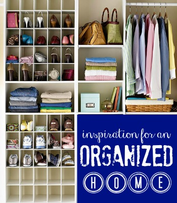 inspiration for an organized home