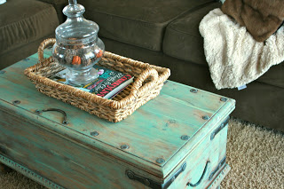 DIY Pottery Barn Trunk, by Finley Gray