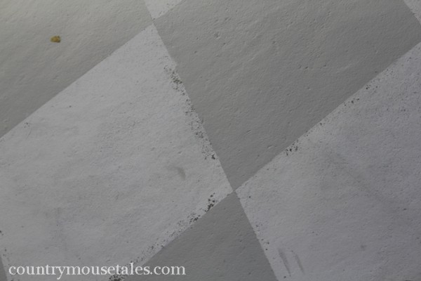let your painted concrete floor cure properly