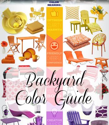 Backyard Mood Color Chart for Summer
