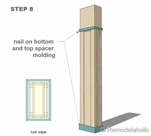 Free interior column plans for House columns prices