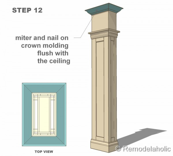 Free interior column plans for House plans with columns