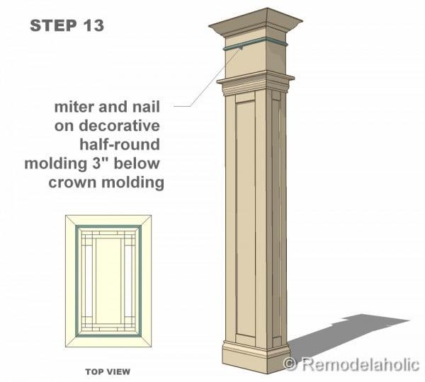 step 13 column construction final