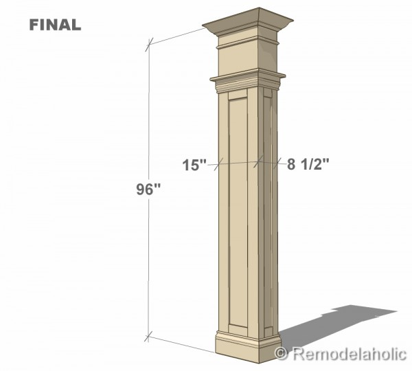 Free interior column plans for Interior post designs