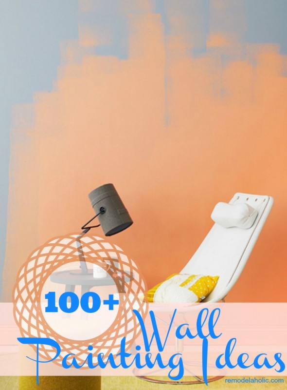 tps_header 100 wall painting ideas remodelaholic painting walls design inspiration - Wall Painted Designs