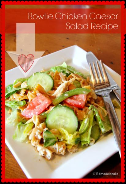 Bowtie Chicken Caesar Salad Recipe