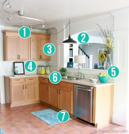 Get This Look - Remodelaholic's Park House Kitchen - 7 tips to bring it home