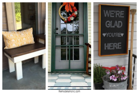 Welcoming Front Porch Ideas On Remodelaholic