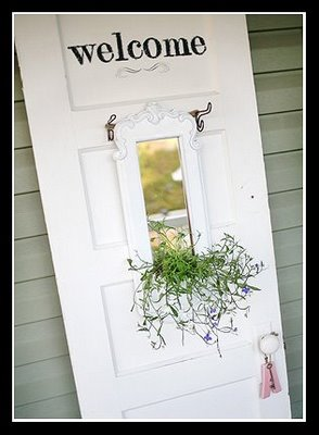 a welcoming door on the front porch, Meadow Street Memoirs