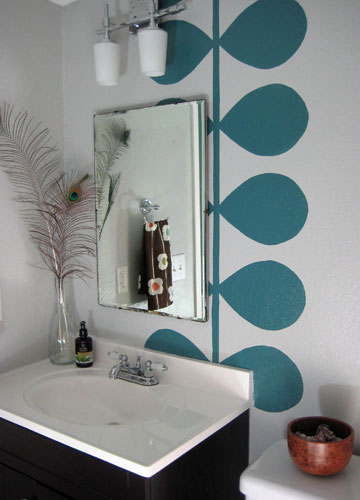 Bathroom wall mural for Bathroom wall mural ideas