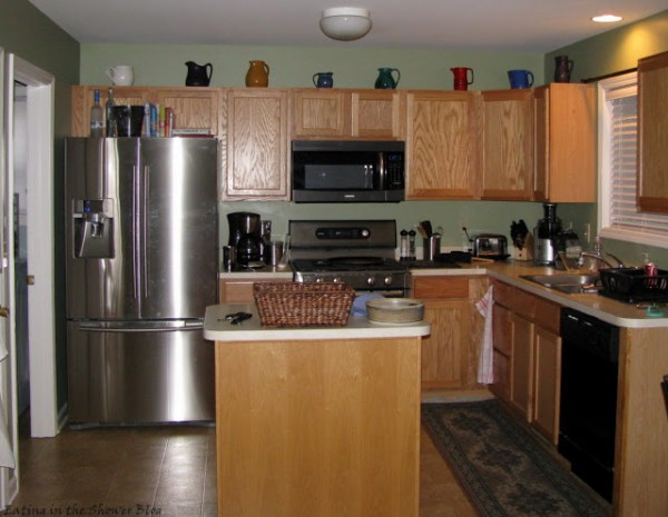 before the kitchen makeover