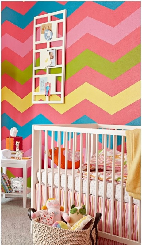 colorful chevron